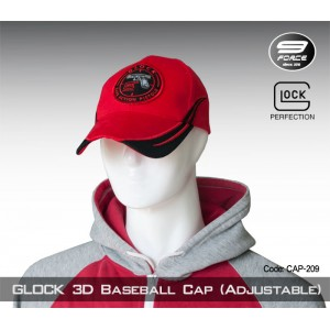 Glock 3D Baseball Cap(Adjustable) - cap209