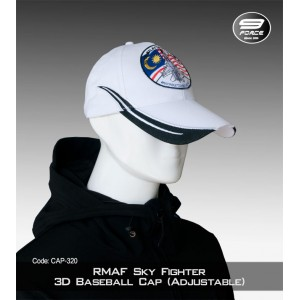 RMAF SKY Fighter 3D Baseball Cap (Adjustable)