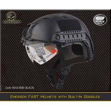 Emerson FAST Helmets with Built-In Goggles - HEAD-8080