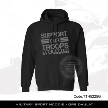 MILITARY SPORT HOODIE - OPS DAULAT, FREE POSTAGE - TTH5225G
