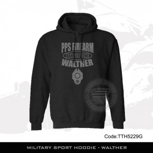 Military Sport HOODIE - WALTHER, FREE POSTAGE - TTH5229G