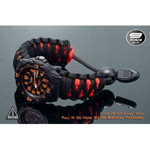 Pull N' Go Hand Watch Survival Paracord (1 Year warranty) - HW1529