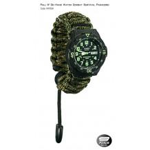 Pull N' Go Hand Watch Survival Paracord (1 Year warranty) - HW1529