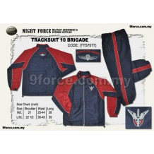 TRACKSUIT 10 BRIGADE (EMBROIDERY LOGO)