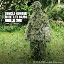 JUNGLE HUNTER MILITARY CAMO GHILLIE SHUIT