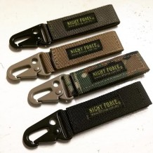 Tactical Multi-Hook, Key Chain, Molle System, Black, OD Green, CP Camo, Khaki