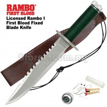 Licensed Rambo I First Blood Fixed Blade Knife