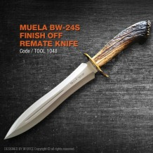"Muela BW-24S Finish Off ""Remate"" Knife, Made in Spain, High Quality Raw Material, (tool1048)"