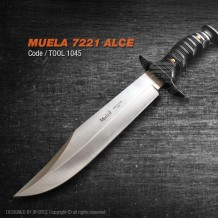 Muela 7221 Alce, Made in Spain, Raw Material, (tool1045)