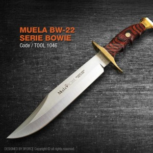 Muela BW-22 Serie Bowie, Made in Spain, High Quality Raw Material, (tool1046)