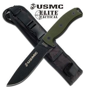 USMC Semper Fi Fixed Blade - Green (TOOLM1021GN)