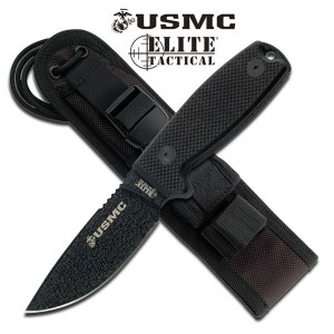 USMC Guardian Fixed Blade Black (TOOLM1022BK)