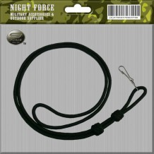 Lanyard Black Double