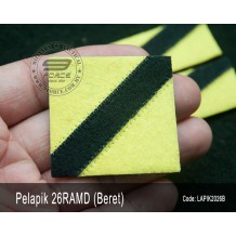 Pelapik Beret 26RAMD (Rejimen Askar Melayu Diraja) LAPIK2026B