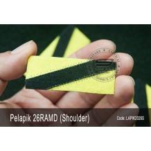 Pelapik Shoulder Title 26RAMD (Rejimen Askar Melayu Diraja) LAPIK2026S