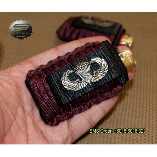 Airborne Paracord Lighter Pouch