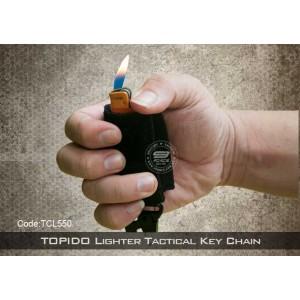 TOPIDO Tactical Lighter Keychain