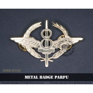 METAL BADGE PARPU - CB1128