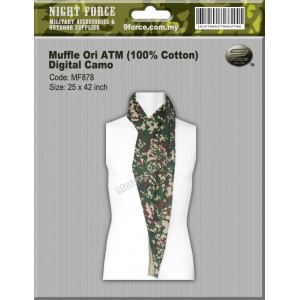 Tactical Muffler Cotton ATM (Digital Camo)