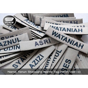 Name Tag No.5 (Nama tenun) with velcro, Military spec