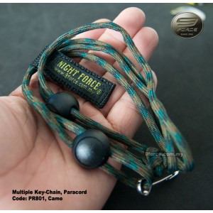 Tactical Multiple Paracord Key-Chain
