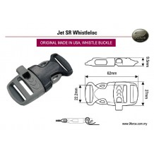 ITW Nexus whistle buckle, Made in USA. Best whistle buckle in the world. MIL SPEC