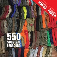 SURVIVAL 550 PARACORD 100ft