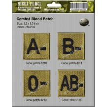 COMBAT BLOOD PATCH-1201