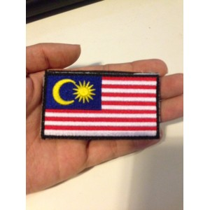 PATCH MALAYSIA WITH VELCRO