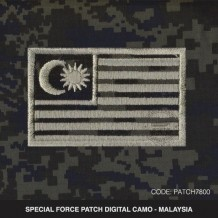 MALAYSIA PATCH DIGITAL CAMO PGA/VAT69 - PATCH7800