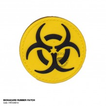 BIOHAZARD RUBBER PATCH - PATCH9014