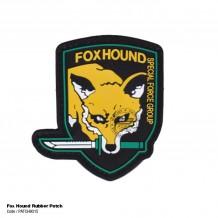 Fox Hound Rubber Velcro Patch