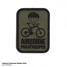 AIRBORNE PARATROOPER RUBBER PATCH - PATCH9016