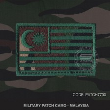 MILITARY PATCH CAMO MALAYSIA - PATCH7730