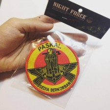 MILITARY PATCH PASKAL, VELCRO - PATCH7015