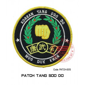 "PATCH TANG SOO DO 4""  (patch6313)"