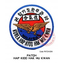 "PATCH HAP HAK MU KWAN 4""  (patch6314)"