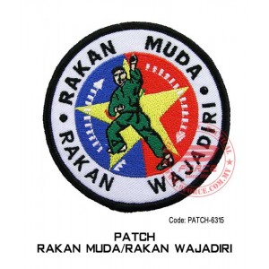 "PATCH RAKAN MUDA / RAKAN WAJADIRI 4""  (patch6315)"