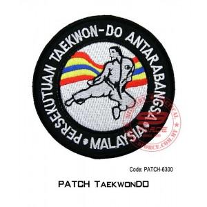 "PATCH TAEKWONDO 4"" (patch6300)"
