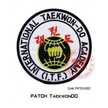 "PATCH TAEKWONDO 4"" I.T.F. (patch6302)"