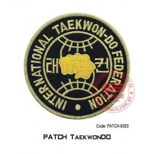 "PATCH TAEKWONDO 4"" I.T.F. (patch6303)"