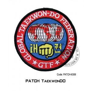 "PATCH TAEKWONDO G.T.F. 4"" (patch6306)"