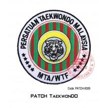 "PATCH TAEKWONDO MTA / WTF 4""  (patch6309)"