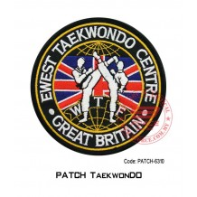 "PATCH TAEKWONDO GREAT BRITAIN 4""  (patch6310)"