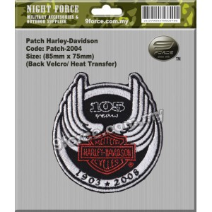 Patch Harley Davidson - PATCH2004