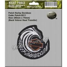 Patch Harley Davidson-2011 - PATCH2011
