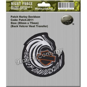 Patch Harley Davidson-2011 - PATCH2011