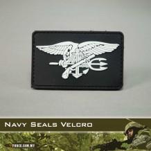 3D Navy Seals Rubber Patch (Velcro) - PATCH2015