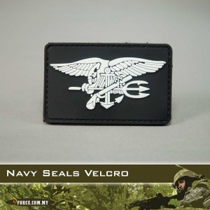 3D Navy Seals Rubber Patch (Velcro) - PATCH2015