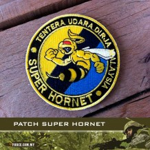 PATCH SUPER HORNET WITH VELCRO - patch2020